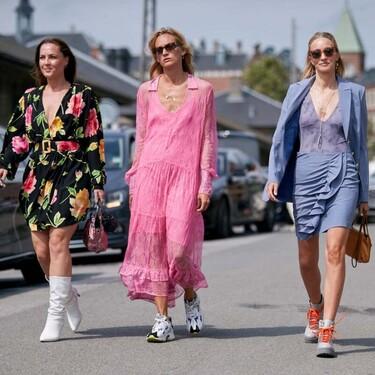 Ocho ideas originales para saber cómo llevar un vestido de encaje de forma diferente