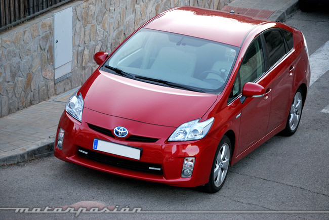 Toyota Prius a GLP