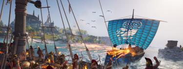 El nuevo vídeo de Assassin's Creed: Odyssey nos muestra cómo arrasar a los enemigos en las batallas navales