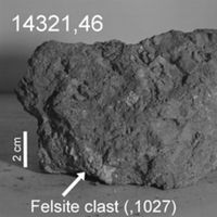 Ésta podría ser la primera prueba de un primer meteorito terrestre que ha impactado contra la Luna