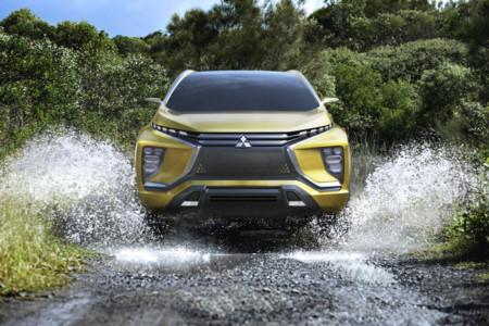 Muchas fotos del Mitsubishi eX Concept, el SUV eléctrico que pasará a producción