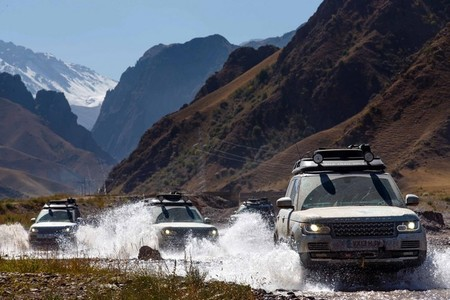 La prueba definitiva del Range Rover Híbrido: la Ruta de la Seda 2013