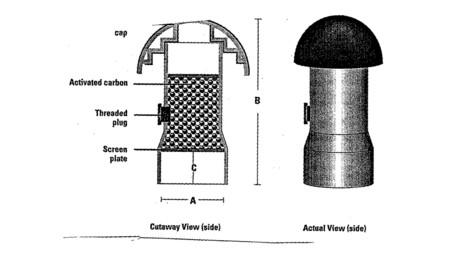 Filtro carbón