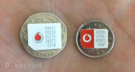 nanoSIM Vodafone