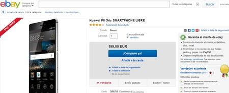 Huawei P8 Ebay