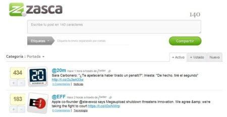 Vagos.es se transforma en Zasca.com, un agregador de contenidos procedentes de redes sociales