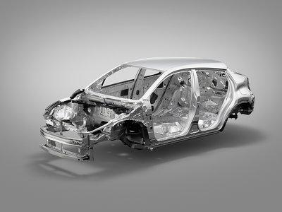 La espectacular forma que tiene un coche para absorber impactos