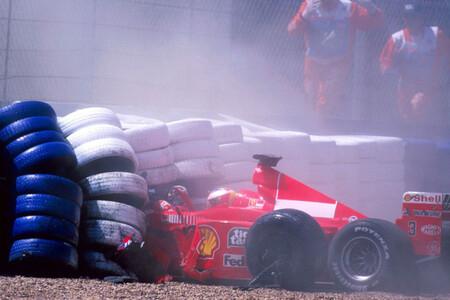 Schumacher Silverstone F1 1999