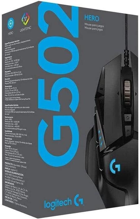 Mouse gamer Logitech G502 de oferta en Amazon México por Hot Sale 2021