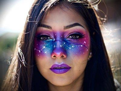 Ideas para Halloween: maquillajes de otra galaxia