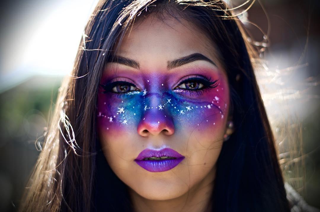 Ideas Para Halloween Maquillajes De Otra Galaxia