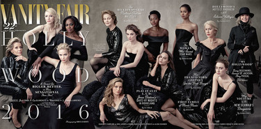 Vanity Fair nos presenta su (ya mítico) Hollywood Issue 2016