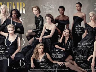 Vanity Fair nos presenta su (ya mítico) Hollywood Issue 2016