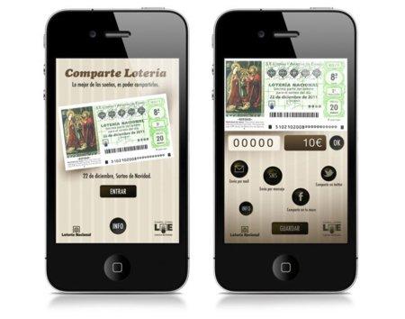 Aplicaciones loterías