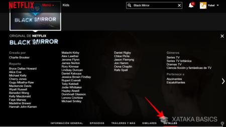 Tab Details On Netflix