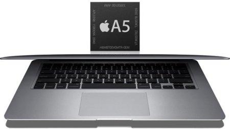 Apple podría estar probando un MacBook Air con procesador A5