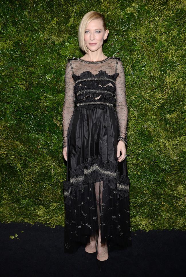 2b6373078d Museum Of Modern Arts Gala Cate Blanchett Diane Kruger 2015 Chanel 2