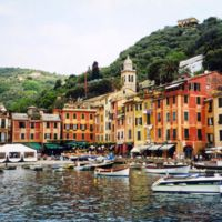 Portofino Harbor Right