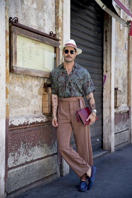 El mejor street-style de la semana: ¿ya tienes tus pantalones de pinzas?