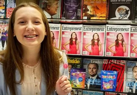 Su padre no le dejó comer una piruleta y ella creó una saludable para sus dientes que previene las caries: ahora es millonaria