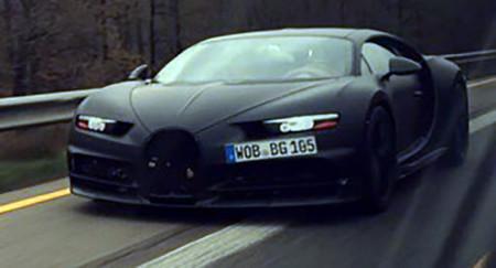 Bugatti confirma el nombre Chiron y debut en Ginebra, se le suman nuevas fotos espía