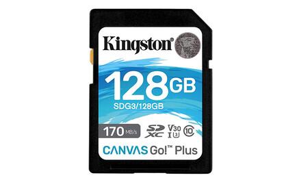 Kingston 128gb Sdxc Canvas Go Plus