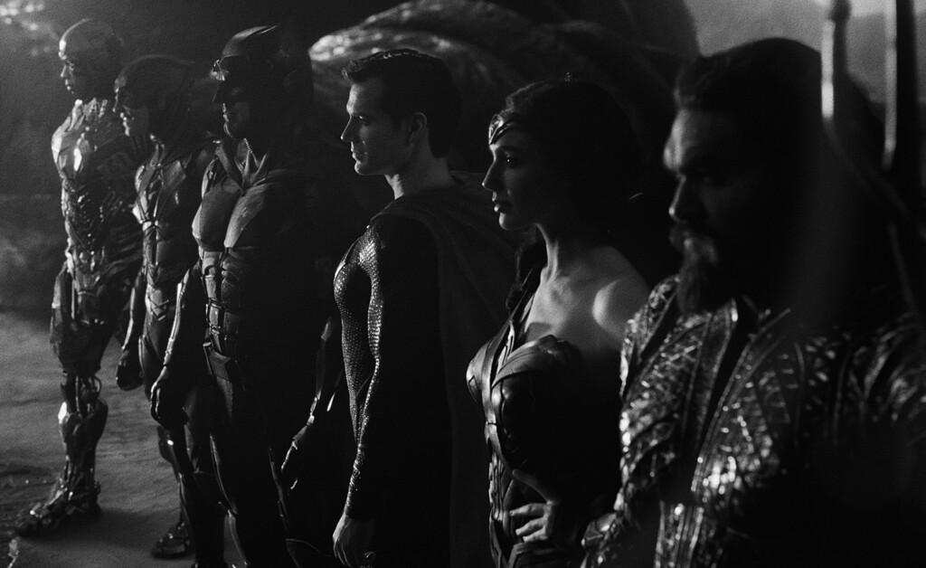 Llega a HBO España la versión en blanco y negro de 'La Liga de la Justicia de Zack Snyder' bajo el sobrenombre de 'Justice is Gray'