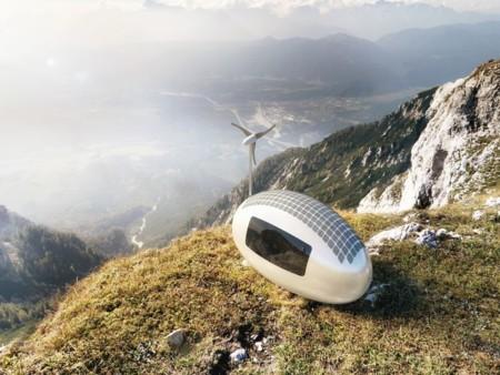 Esta cápsula en forma de huevo es un lugar para vivir capaz de generar su propia energía [Actualizado]