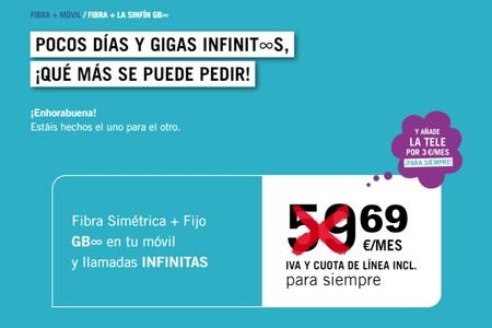 Yoigo también sube precios: el combinado de fibra y móvil con datos ilimitados será 10 euros más caro