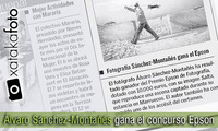 Álvaro Sánchez-Montañés, ganador del concurso de fotografía Epson