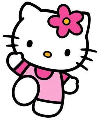 Hello Kitty modelo de Dior