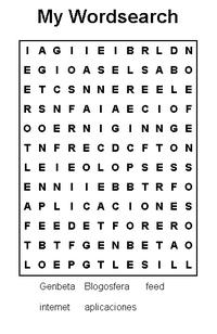 Genera tu sopa de letras con Free Word Search