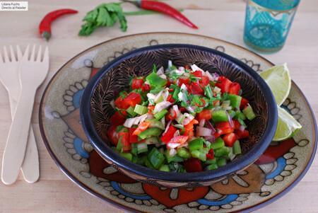 ensalada crujiente marroquí