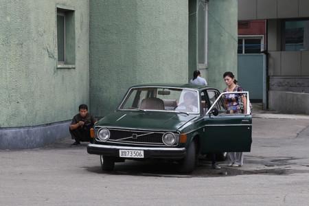 Volvo 144 gl corea del norte