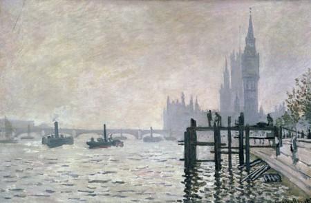 Londres Monet 1871
