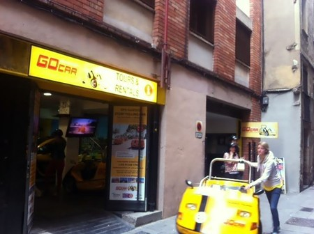 Barcelona Blogger Rally: recorriendo diez lugares de Barcelona a bordo de un GoCar eléctrico