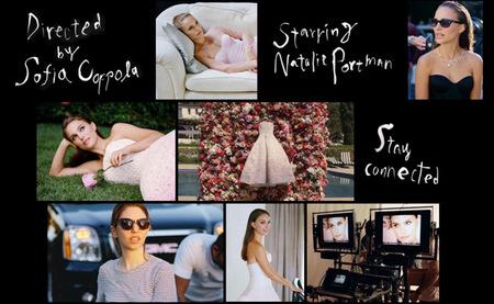 """Natalie Portman dirigida por Sofía Coppola para """"La vie en rose"""" de Miss Dior"""