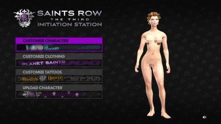 'Saints Row: The Third' y su programa de iniciación: completo editor de personajes con posibilidad de compartir online