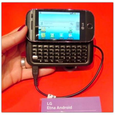 LG Etna, Android sigue aumentando su cartera