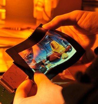 FlexUPD nos acerca las pantallas flexibles asequibles