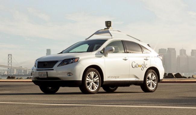 Google conducción autónoma Lexus