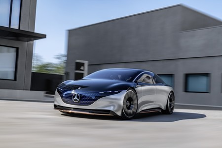 Mercedes-Benz Vision EQS Concept: el auto que adelanta a los futuros Mercedes, especialmente el Clase S
