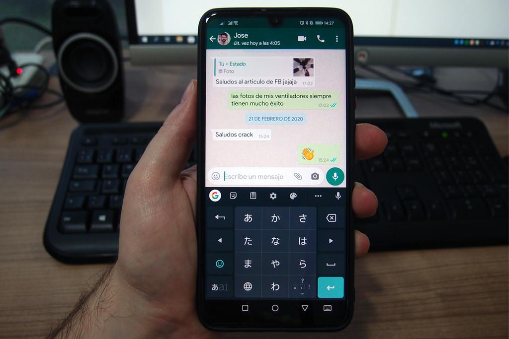Cómo cambiar el lenguaje del keyboard en WhatsApp
