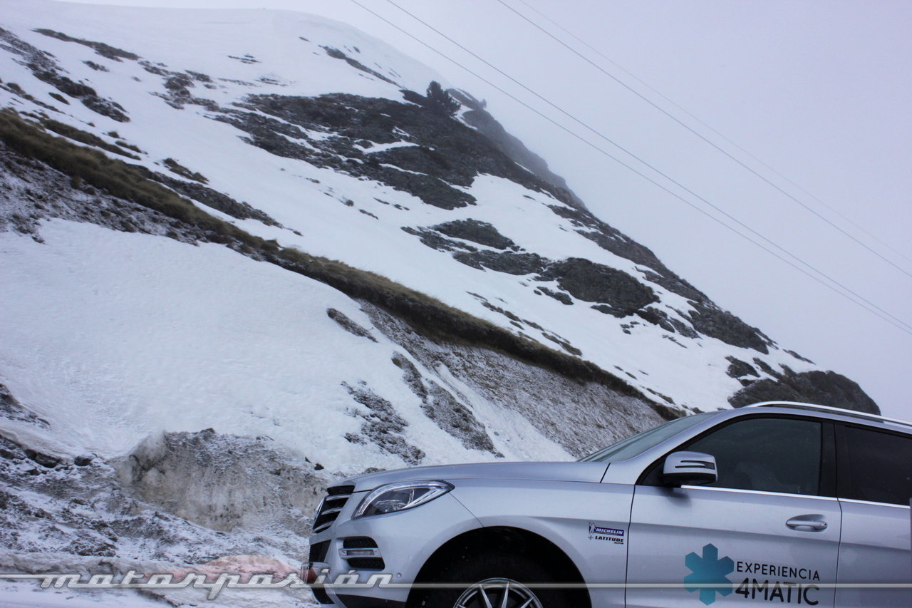 Foto de Michelin Pilot Alpin y Michelin Latitude Alpin, Experiencia 4Matic (22/27)