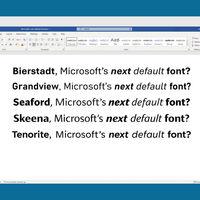 Cansados de Calibri: tras casi 15 años Microsoft cambiará la fuente por defecto en Office, y quieren tu opinión