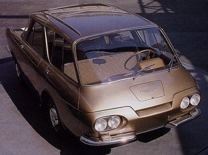 Renault 900: el coche del revés