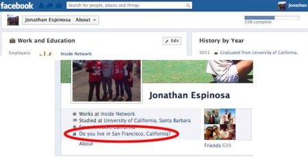 Facebook quiere que los usuarios rellenen todos los campos de su perfil, ¿por qué tanto interés?