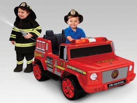 Juguetes para Navidad: un camión de bomberos muy real