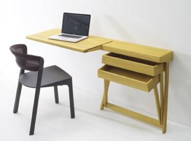 Pivot, un escritorio de pared