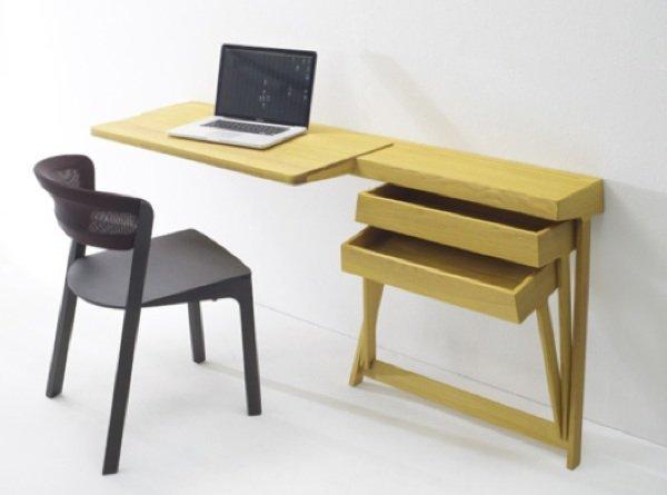 pivot escritorio pared